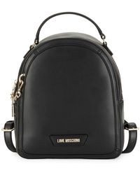 Love Moschino - Minimalist Logo Backpack - Lyst