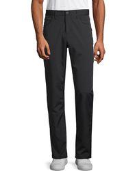 Perry Ellis Slim-fit Stretch Trousers - Black