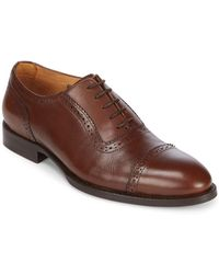 Vince Camuto Perfect Balance Leather Dress Shoes - Brown