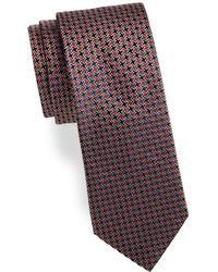 Saks Fifth Avenue | Tetris Silk Tie | Lyst