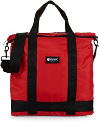 LeSportsac Logo Top Zip Tote - Red