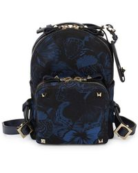 168322bc71 Valentino - Butterfly Zip Backpack - Lyst