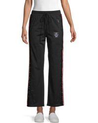 The Kooples Women's Lace-insert Mesh Pants - Black - Size 1 (s)