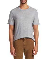 Saks Fifth Avenue Collection Cover Stitch Tee - Grey