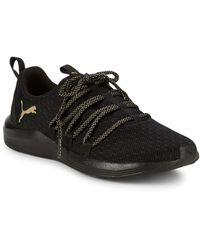 PUMA Prowl Knit Mesh Trainers - Black