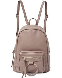 Urban Originals Sublime Faux Leather Backpack - Grey