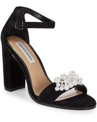Saks Fifth Avenue - Pearl Embellished Sandals - Lyst