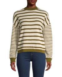 Madewell Stripe Play Knit Jumper - Multicolour