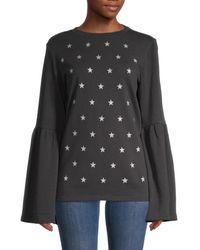 South Parade Christy Cotton Sweatshirt - Grey