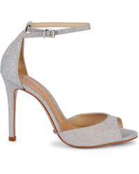 Schutz Ankle-strap Sandals - Grey