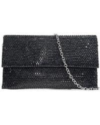 Badgley Mischka Women's Embellished Convertible Clutch - Black