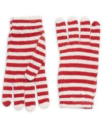 RED Valentino - Striped Gloves - Lyst