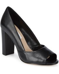 Saks Fifth Avenue - Charlotte Leather Pumps - Lyst