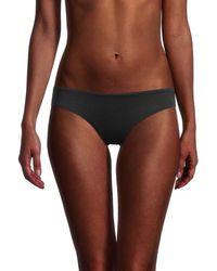 Love Moschino Logo Bikini Bottom - Black