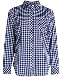 Vineyard Vines Beach Street Gingham Chilmark Classic Button-down Shirt - Blue