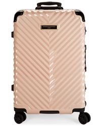 Karl Lagerfeld 26.75-inch Spinner Suitcase - Multicolour