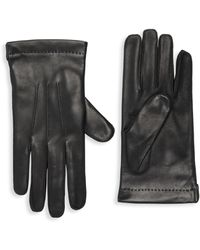 Portolano Leather Gloves - Black