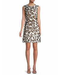 Oscar de la Renta Mini Sheath Dress - White