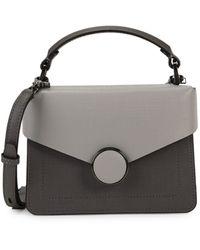 Botkier Nolita Leather Crossbody Bag - Black