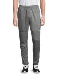 Spyder Heathered Zip-cuff Track Pants - Grey