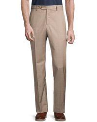 Zanella Men's Devon Virgin Wool Trousers - Black - Size 40