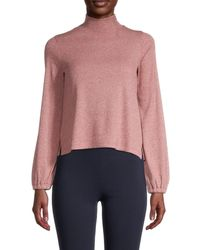 Madewell Bubble Sleeve Jumper - Pink