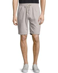 Alternative Apparel - Relaxed Cotton-blend Tie Shorts - Lyst