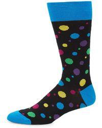 Bugatchi - Polka-dot Dress Socks - Lyst