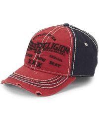 True Religion Triple X Baseball Cap - Multicolour