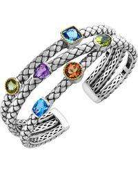 Saks Fifth Avenue Crystal Lariat Necklace - Multicolour