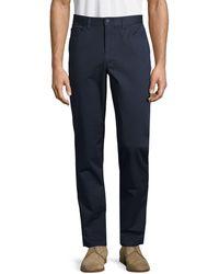 Perry Ellis Straight Leg Trousers - Blue