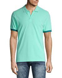 Vilebrequin Comfort-fit Cotton Pique Polo - Blue
