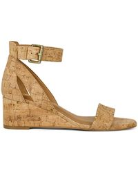 Aerosoles Willowbrook Ankle-strap Wedge Sandals - Metallic