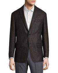 Michael Kors - Mini Grid Wool Sportcoat - Lyst