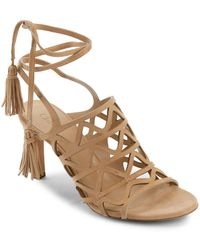 Chloé - Kendal Tassle Trim Sandals - Lyst