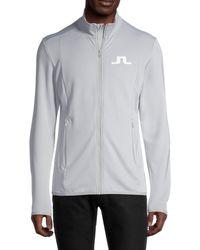 J.Lindeberg Florian Player Track Jacket - Black