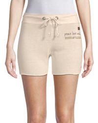 Peace Love World - Pristine Drawstring Shorts - Lyst