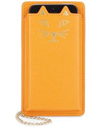 Charlotte Olympia | Feline Iphone 5 Leather Case | Lyst