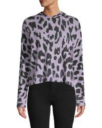 360cashmere Cashmere Cheetah Hoodie - Multicolour