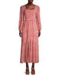 Lost + Wander Women's Madison Maxi Dress - Coral - Size S - Pink