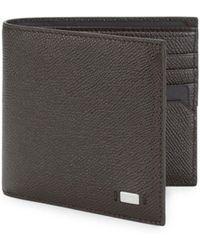 Bally Masai Bifold Leather Wallet - Brown
