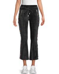 The Kooples Women's Sequin-embellished Flared Pants - Black - Size 1 (s)