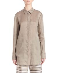 Lafayette 148 New York - Silky Button-up - Lyst