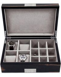 Bey-berk - Lacquered Ebony Wood Watch Box - Lyst