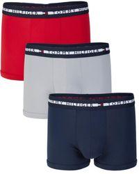 Tommy Hilfiger 3-pack Logo Trunks - Red