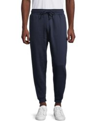Trunks Surf & Swim Men's Fleece Jogging Pants - Soft Blue - Size M