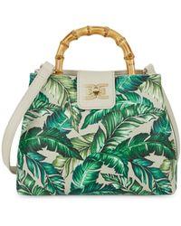 Sam Edelman Lois Bamboo Top-handle Bag - Green