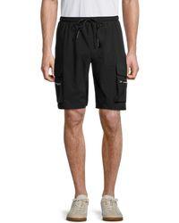 American Stitch Men's Cargo Shorts - Black - Size M