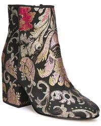 Sam Edelman Taye Textile Boots - Black