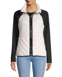 Marc New York Long-sleeve Quilted Jacket - White